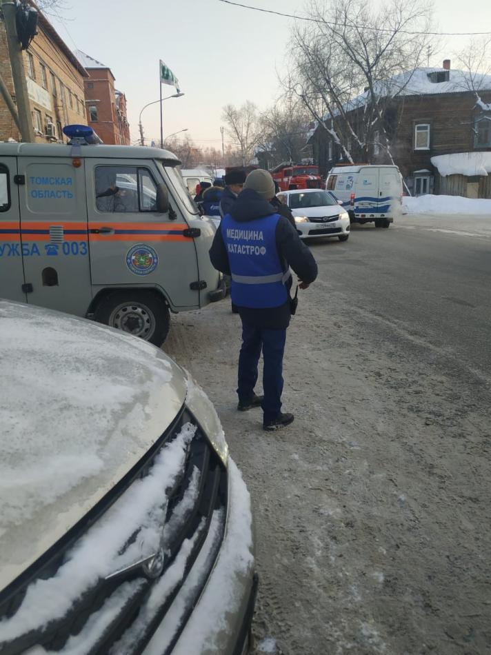 Командно-штабная тренировка по подготовке к паводку в Октябрьском районе