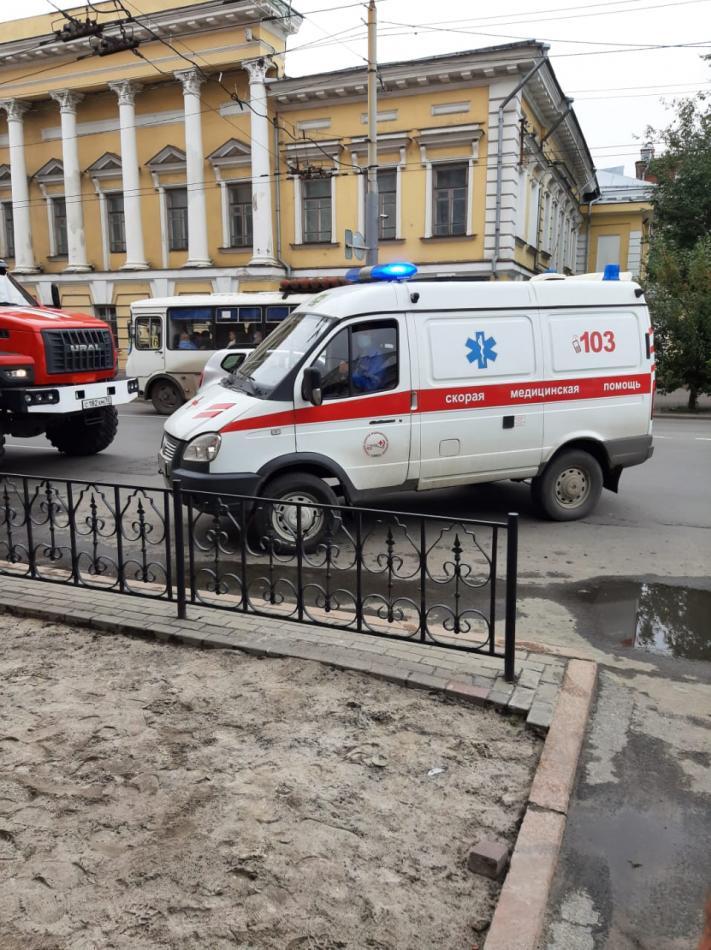 Объектовая тренировка с сотрудниками администрации Города Томска