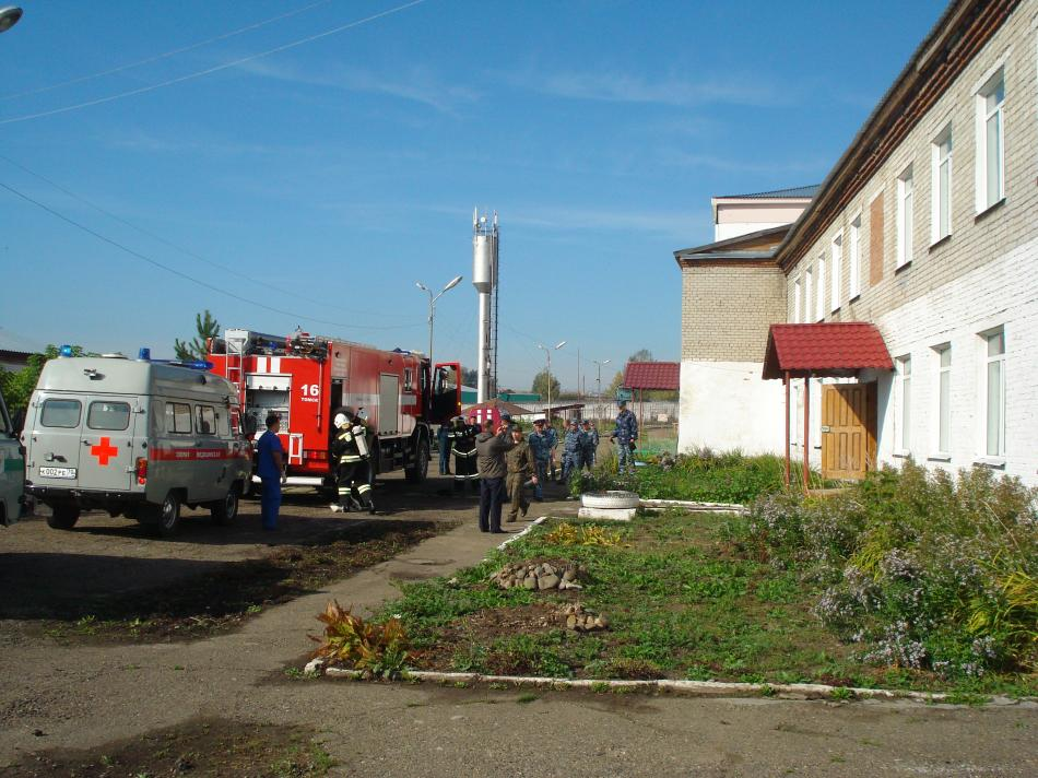 Учения совместно с УФСБ России по Томской области