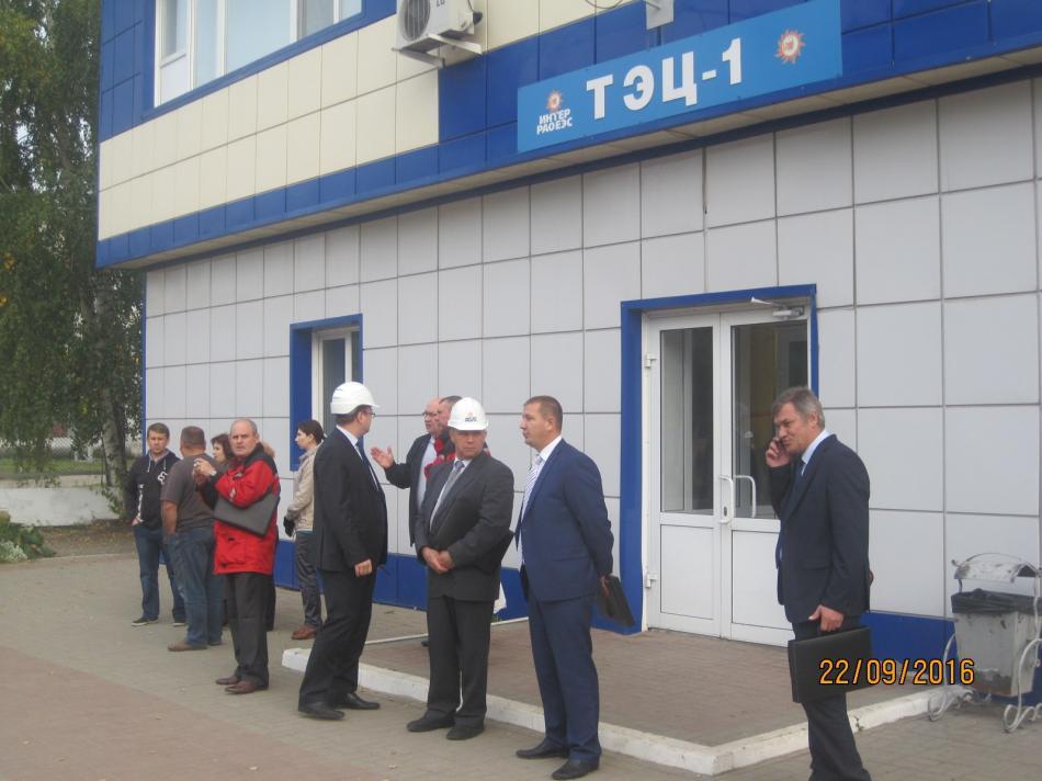 Командно штабная тренировка по условному возгоранию и взрыву газа на СП ТЭЦ 1 АО Томская генерация