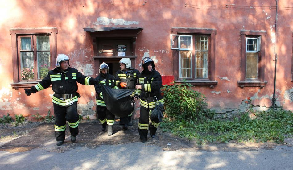 Командно штабная тренировка. Обрушение жилого дома