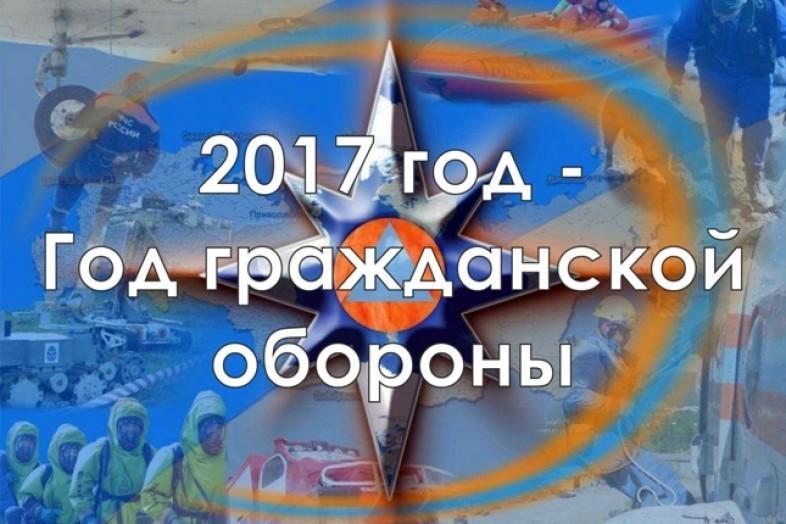 Всероссийская штабная тренировка по ГО 2017 г