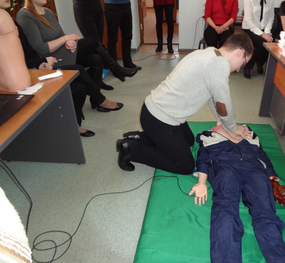 Популяризация и обучение навыкам оказания первой помощи пострадавшим