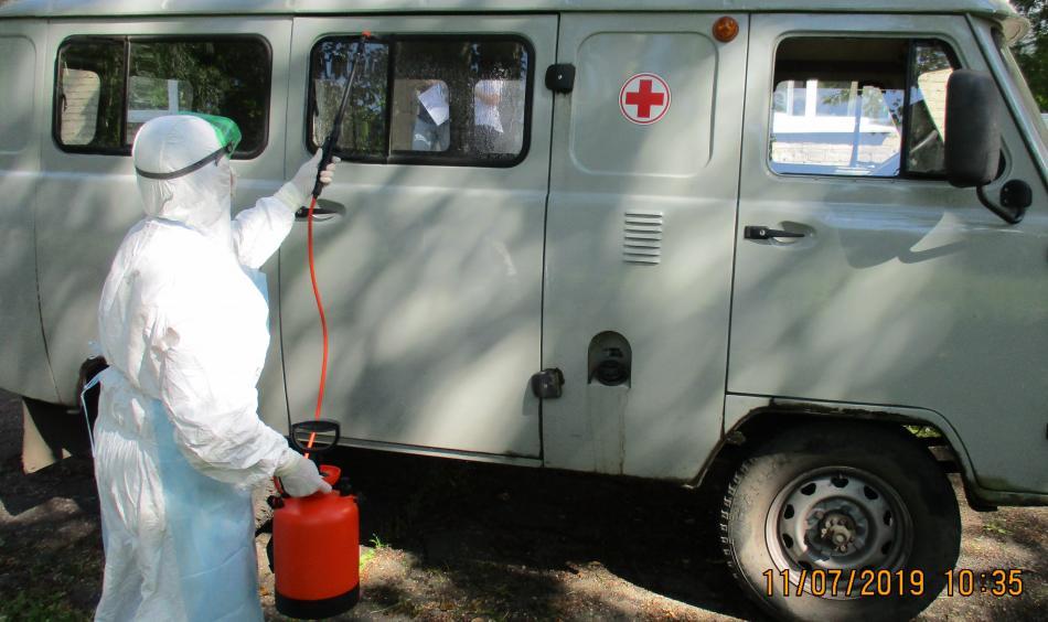 Тренировка по проведению противоэпидемических мероприятий при выявлении больного ООИ (холера)